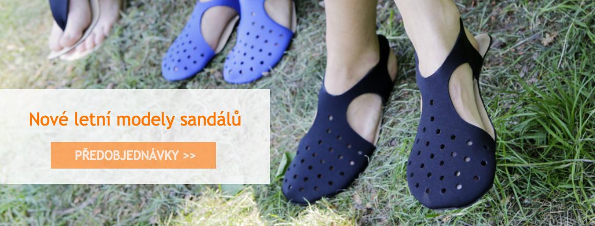 Nové letní sandály Pathik shoes