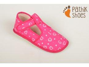 Papučky pro holky růžové