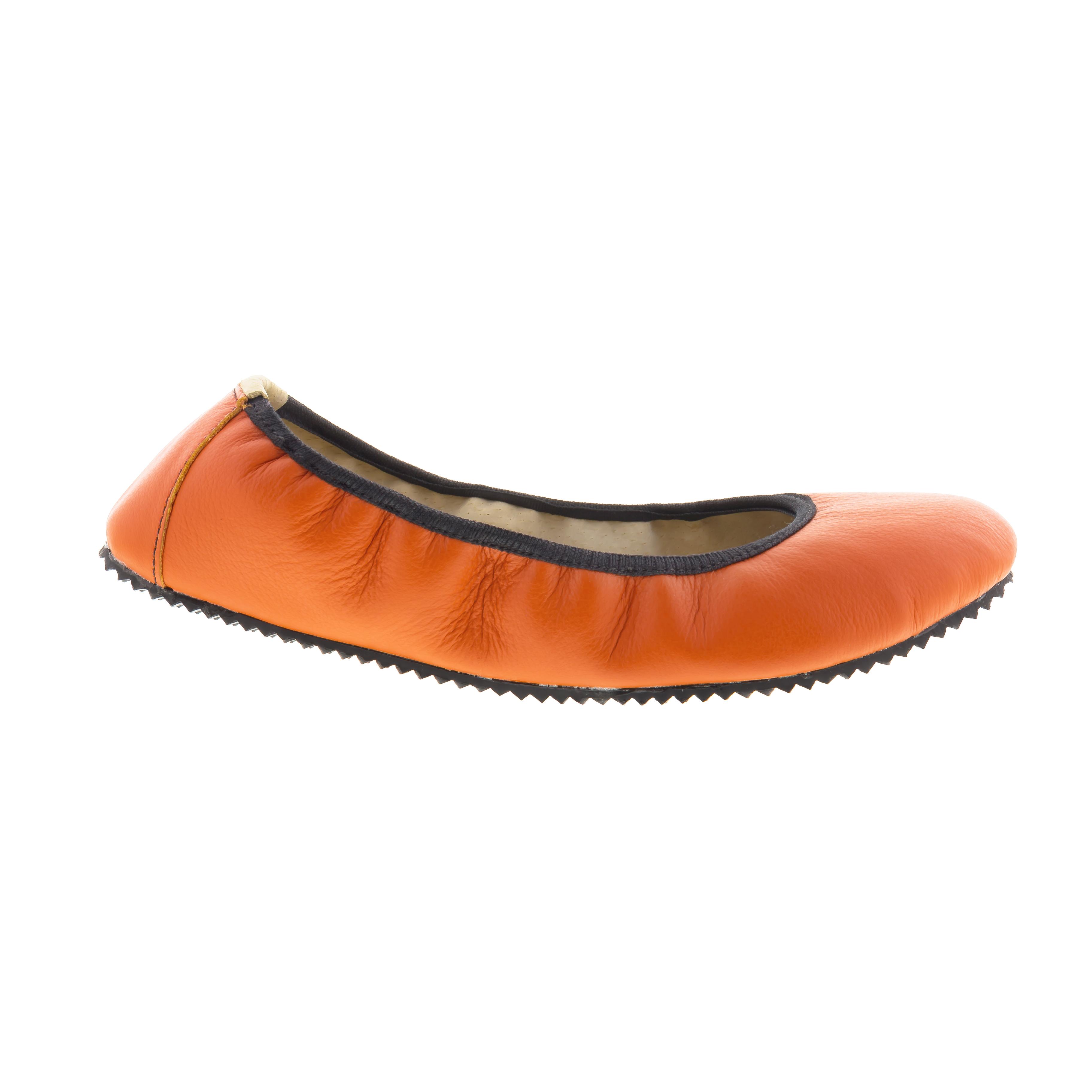 Baleríny Amelíny oranžové Velikost: 41