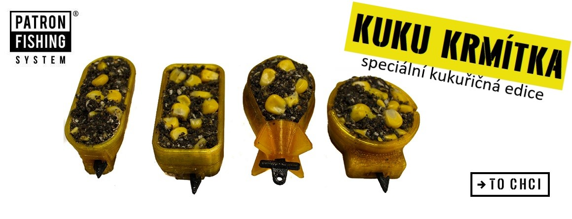 Kuku krmítka- speciální krmítka na kukuřici