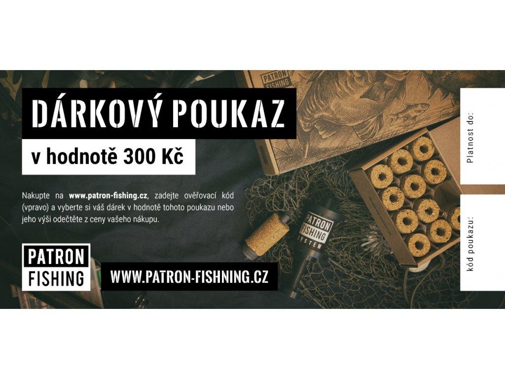 Dárkový poukaz pro rybáře