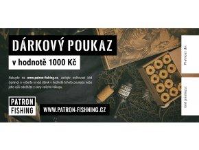 Dárkový poukaz pro rybáře  1000Kc