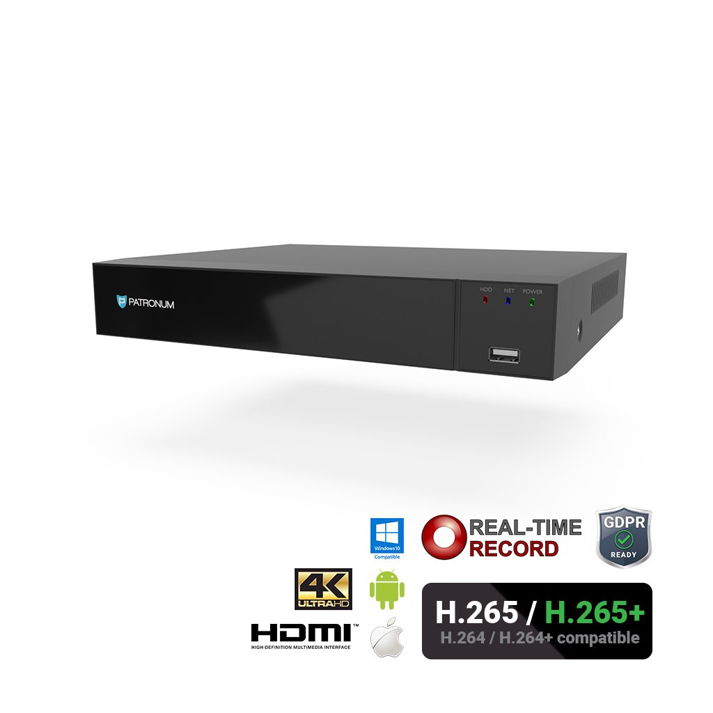 IP rekordér PATRONUM PR-NVR1680HPOE4V1