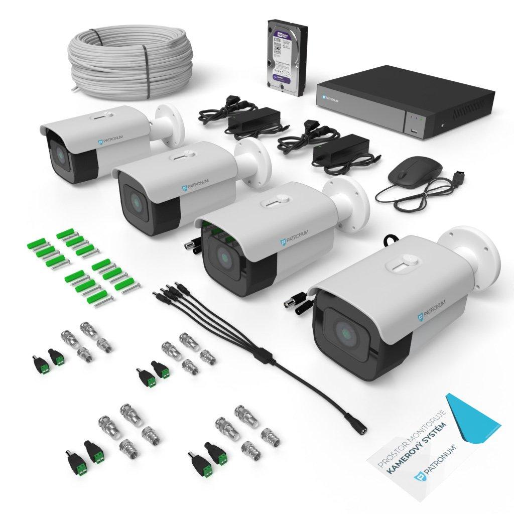 AHD kamerový systém BULLET s IR do 40m KONFIGUR