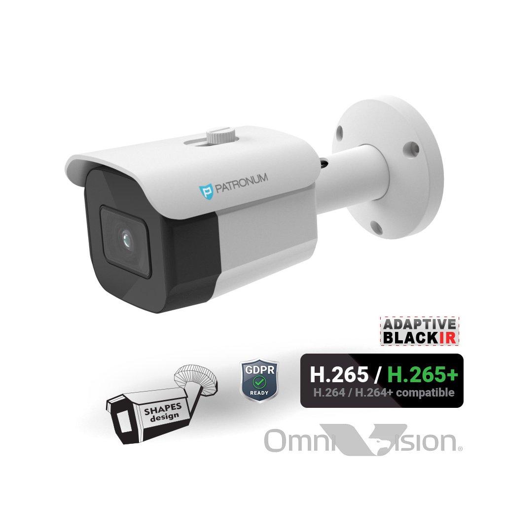 5064 5 0mpx ip bezpecnostni kamera patronum pr b30ipwt50fpoev1