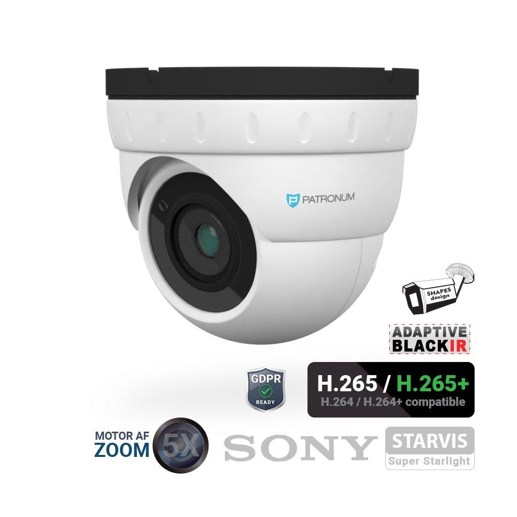 5727 5 0mpx ip bezpecnostni kamera patronum pr d40ipwt50mzpoev1