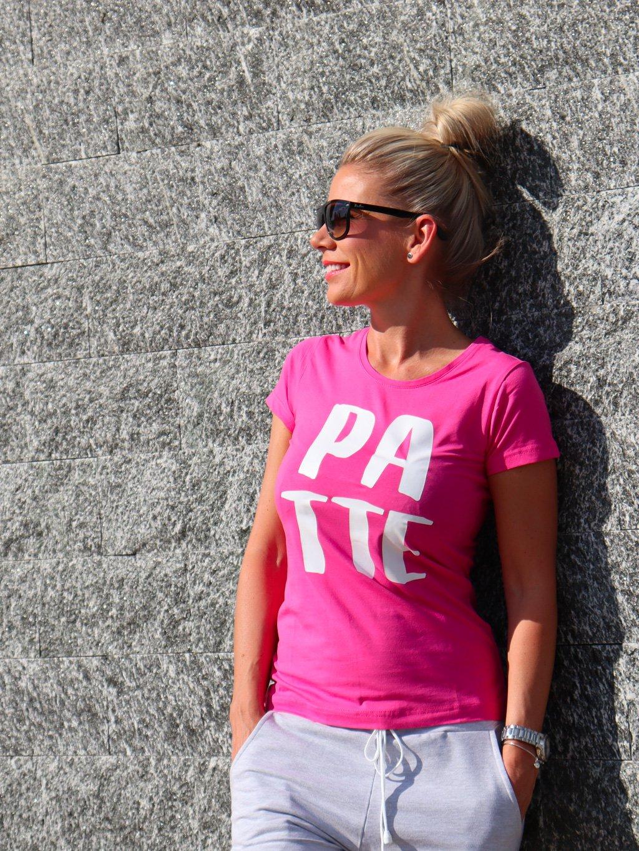 Tričko Patte Adi, pink
