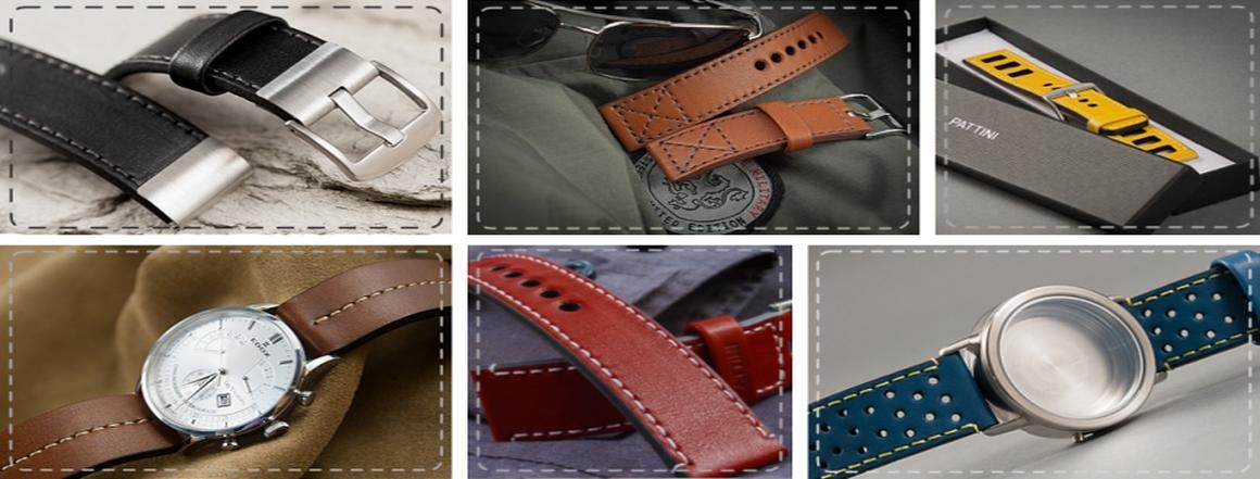 Pattini - pásky a řemínky na hodinky