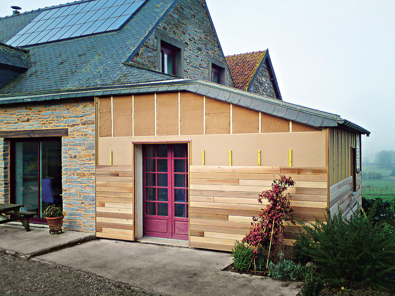 Dřevovláknité desky PAVATEX v rámci dřevostavby