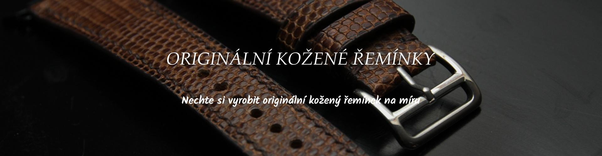 Ručně šitý kožený řemínek pro hodinky apple watch