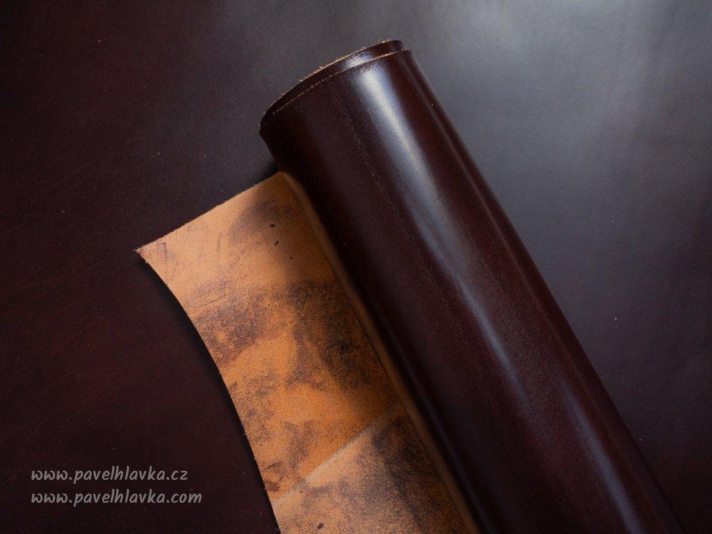Kožený řemínek na hodinky apple watch z přírodní kůže hořká čokoláda
