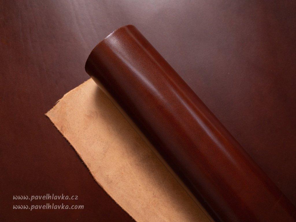 Kožený řemínek na hodinky apple watch z přírodní kůže Lux kaštan
