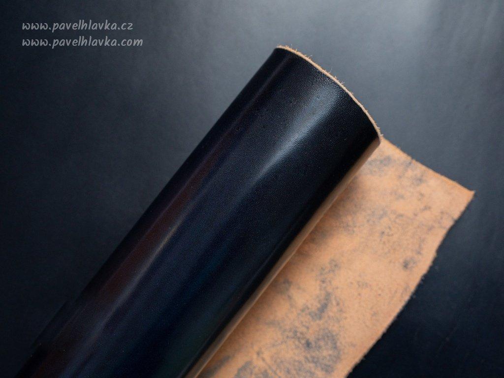 Kožený řemínek na hodinky apple watch z přírodní kůže Lux Navy