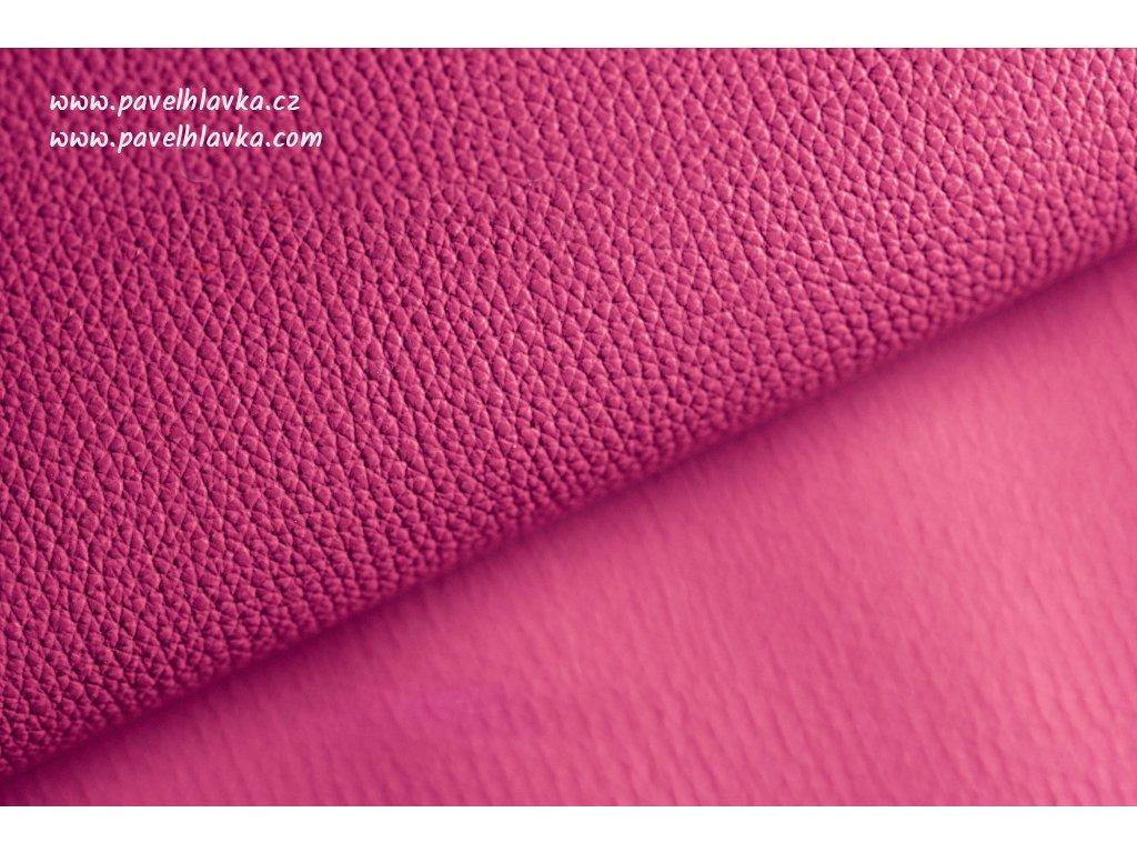 Ručně šitý kožený řemínek - pásek pro hodinky Apple Watch - ruční výroba Epsom růžový