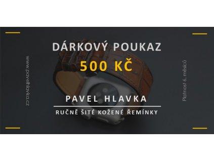 Dárkový poukaz produkt 500