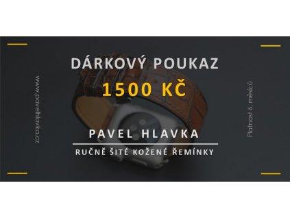 Dárkový poukaz produkt 1500