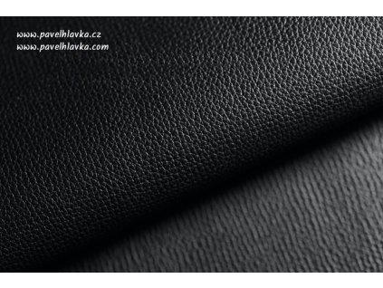 Ručně šitý kožený řemínek - pásek pro hodinky Apple Watch - ruční výroba Epsom černý