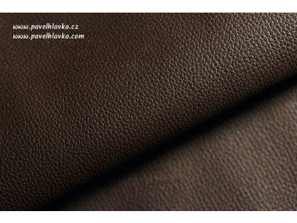 Ručně šitý kožený řemínek - pásek pro hodinky Apple Watch - ruční výroba Epsom hnědý