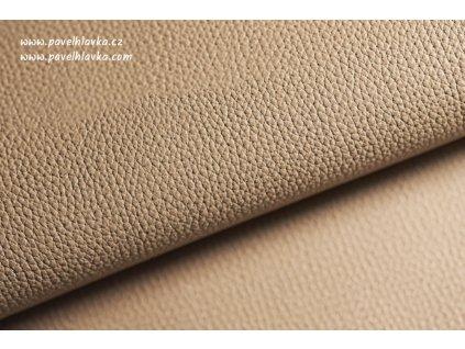 Ručně šitý kožený řemínek - pásek pro hodinky Apple Watch - ruční výroba Epsom cappuccino