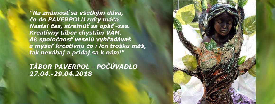 TÁBOR PAVERPOL - POČÚVADLO 27.04.-29.04.2018