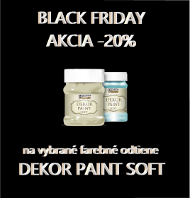 BLACK FRIDAY DEKOR PAINT