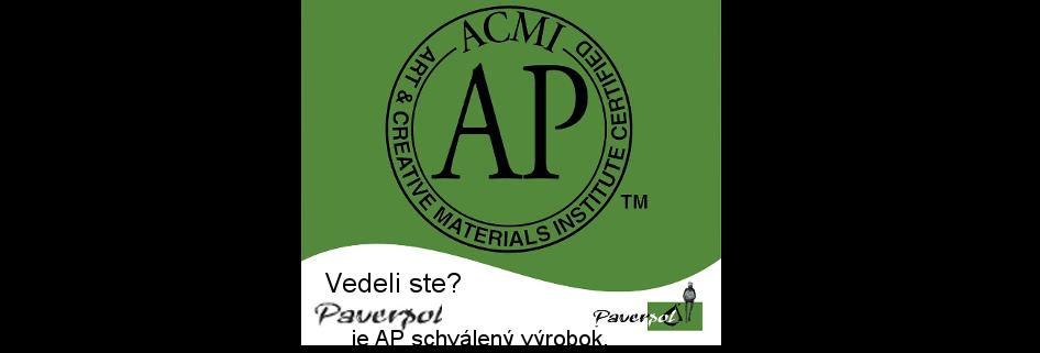 Vedeli ste, že Paverpol je AP schválený výrobok?