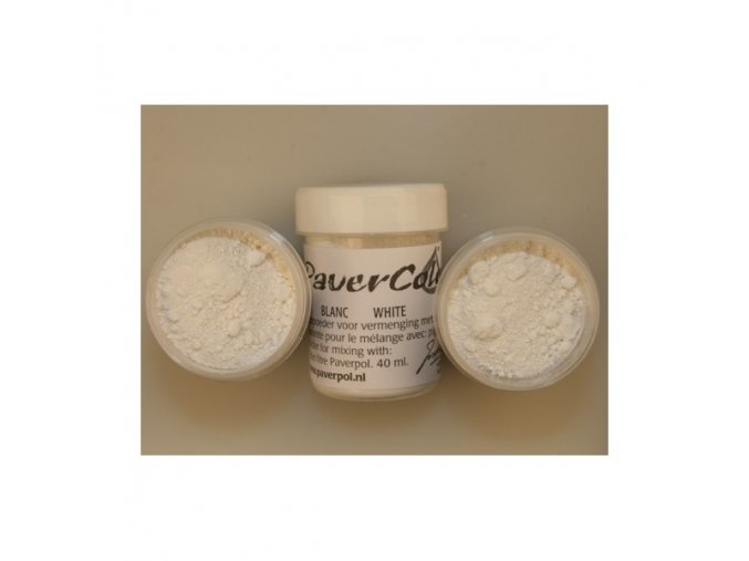 pavercolor white 40ml