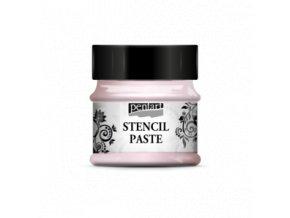 stencil pasta perleťová