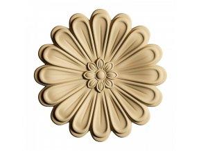 35345 drevena ozdoba tvarovatelna kvet 5 cm