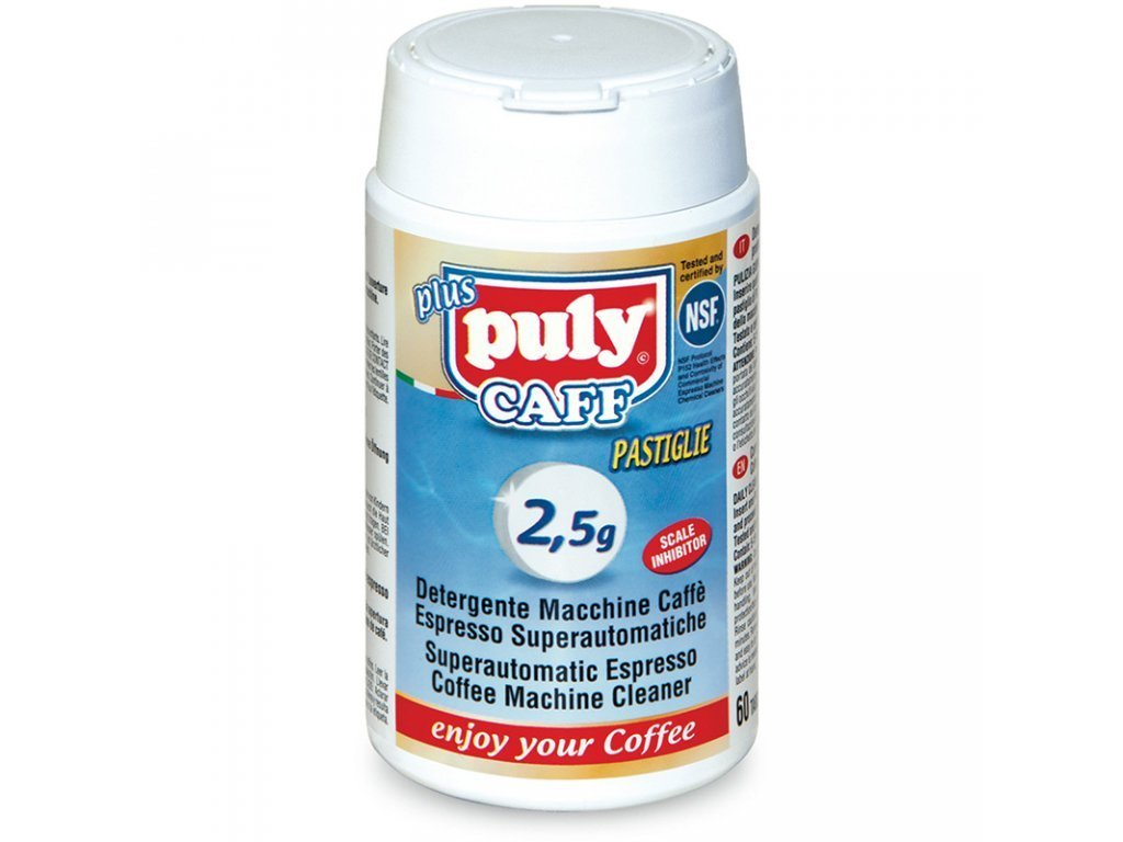 PULY CAFF Plus ® Tabs NSF - Espresso Coffee Machines Cleaning Tablets