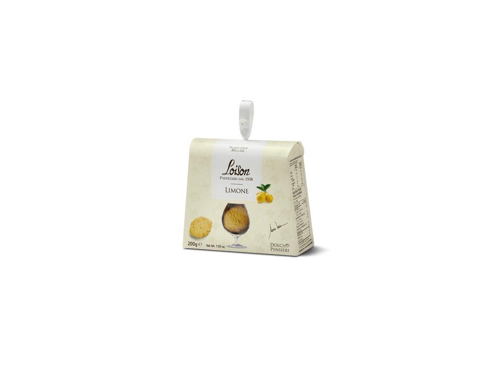 sušenky Loison Limone, 200g dárková krabička