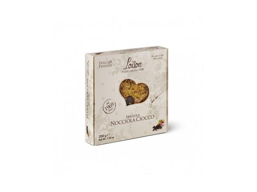 Sbrisola čokoládovo - oříšková 200g