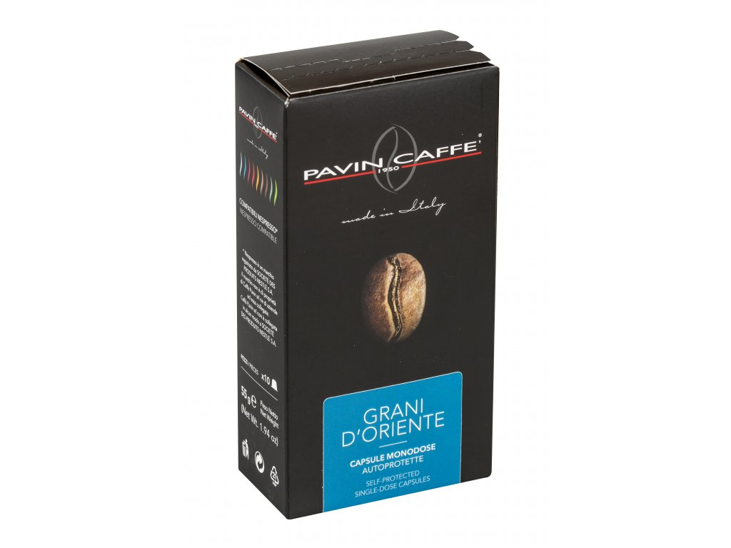 GRANI D ORIENTE - NESPRESSO kompatibilní kapsle balení 10ks