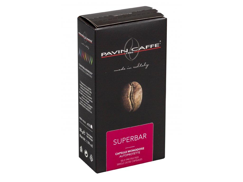 SUPERBAR - NESPRESSO kompatibilní kapsle balení 10ks