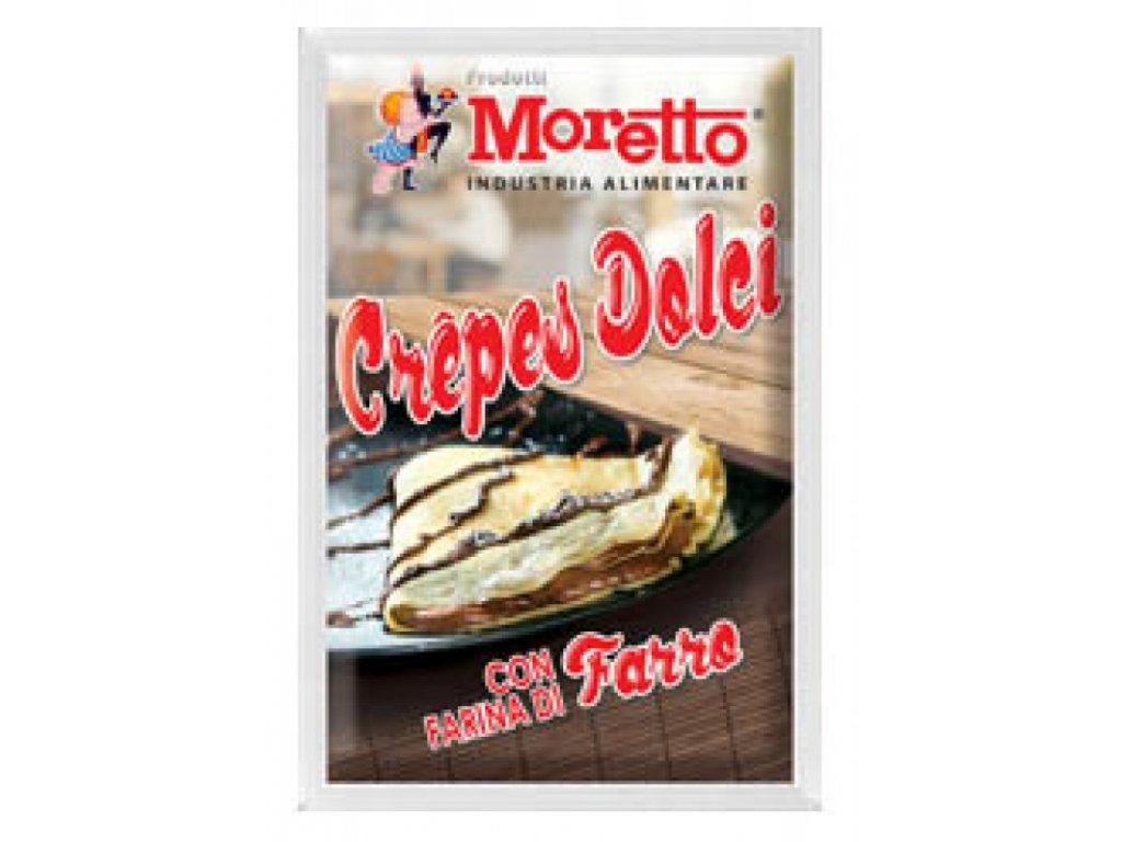 Crepes dolce - sladké palačinky MORETTO