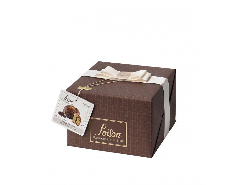 Panettone čokoládové Loison 600g