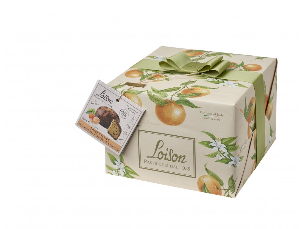 Panettone s pozdními Mandarinkami z Ciaculli Loison 500g Frutta