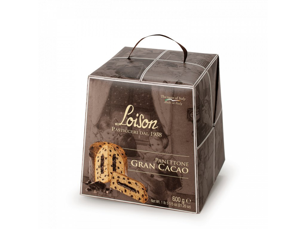 Panettone Gran Cacao Loison – 600g