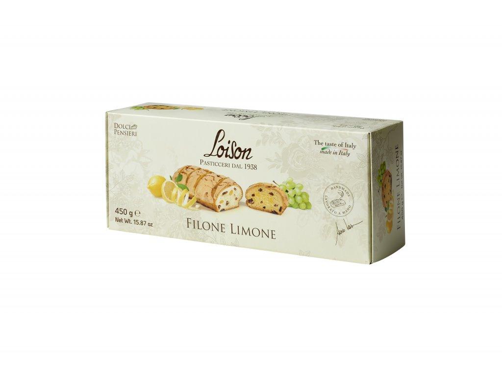 Filone Limone Loison -  chlebík s kousky citronu 450g