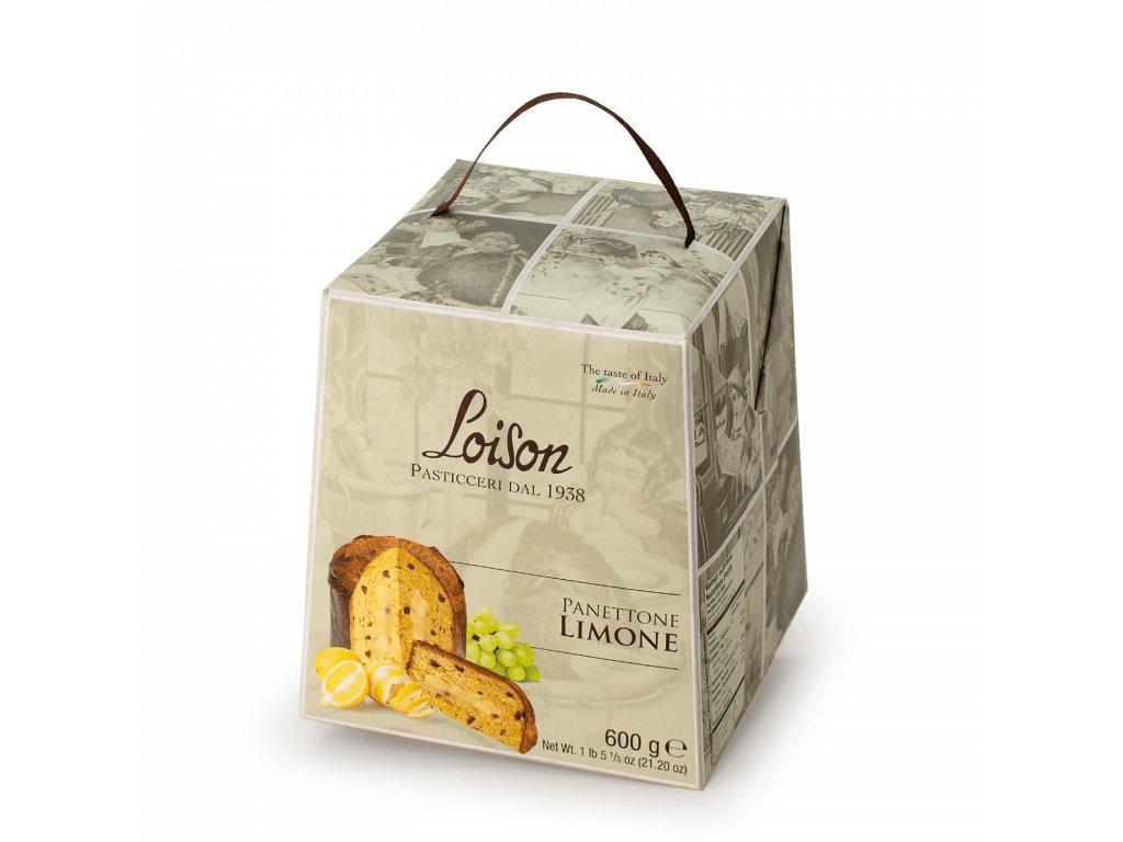 Panettone Limone Loison - 600g Astucci