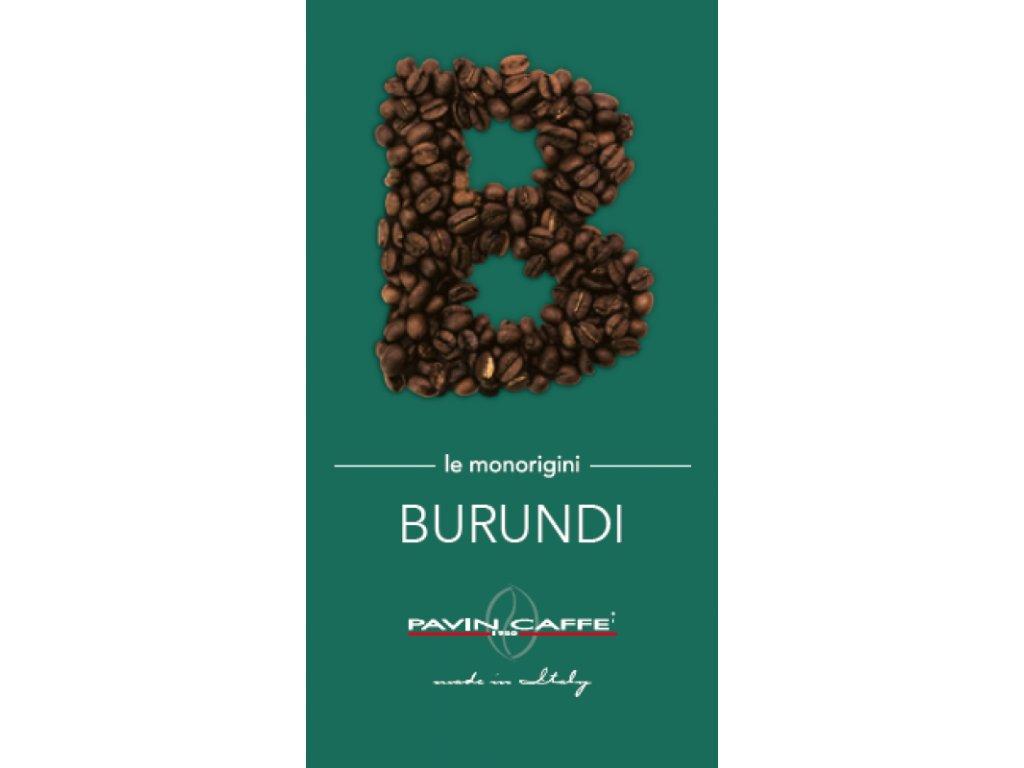 BURUNDI WASHED AA, jednodruhová výběrová káva 500g