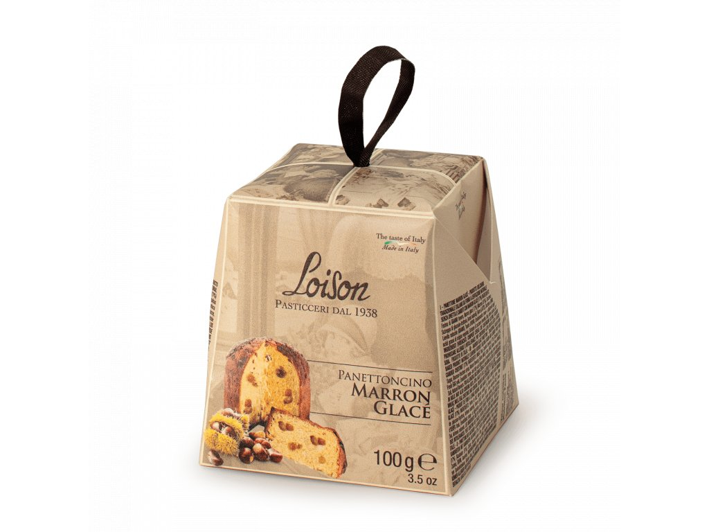 Panettoncino Maron Glace Loison 100g