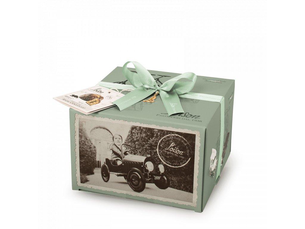 Panettone čokoládové Loison - 600g EROI