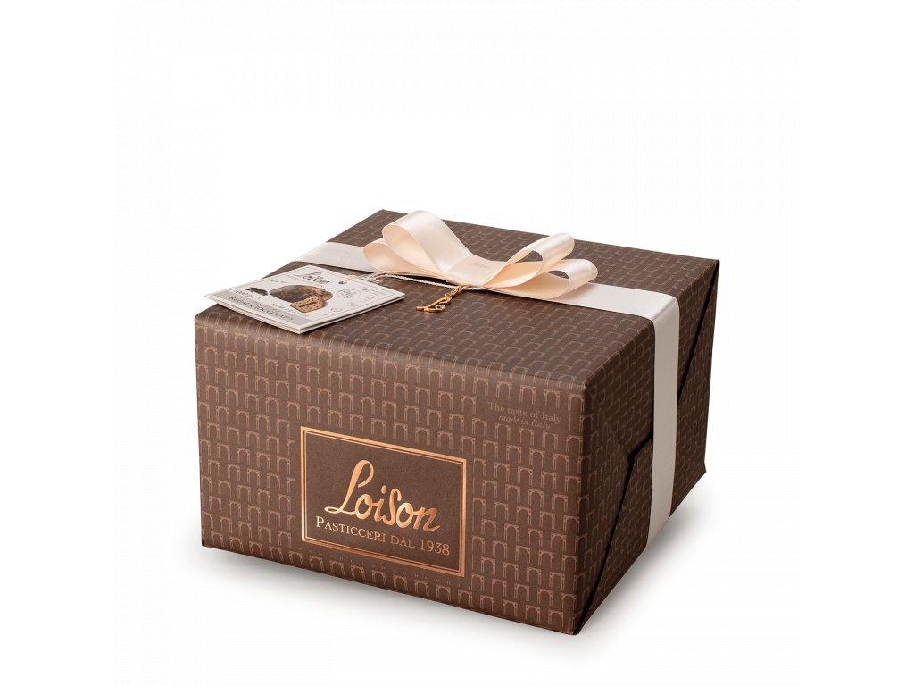 Panettone čokoládové Loison 600g SOGNI