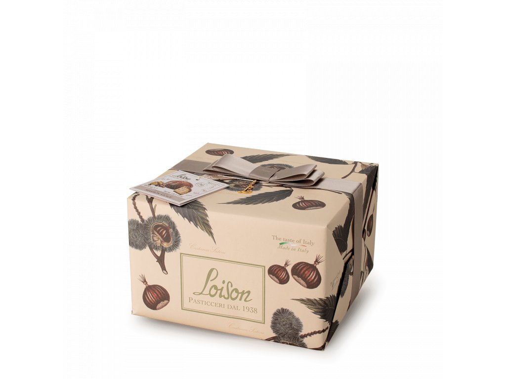 Panettone Maron glace Loison 600g FRUTTA