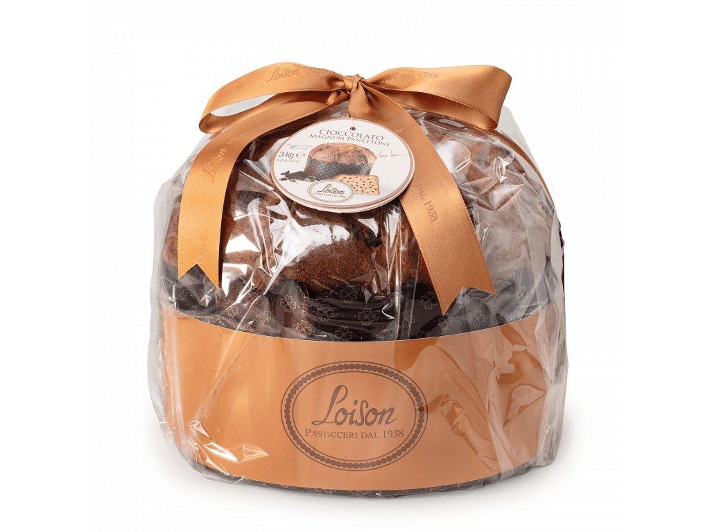 Magnum panettone čokoládové Loison 3000g