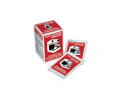 PULY CLEANER ® - Electric Coffe Machine and Water Boiler Descaling Powder (Hot Use)