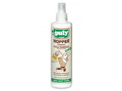 PULY GRIND HOPPER® Spray 200ml - Grinder Hopper Cleaner -no rinsing -Green Power-