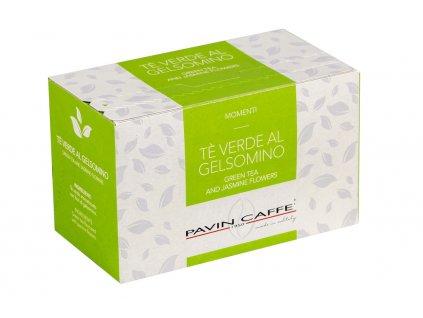 ZELENÝ ČAJ S JASMÍNEM - zelený čaj a květy jasmínu