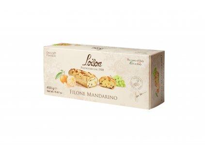 Filone Mandarino Loison -  chlebík s kousky mandarinek 450g